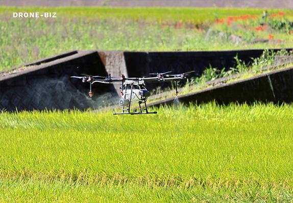 ドローンビズ・農業