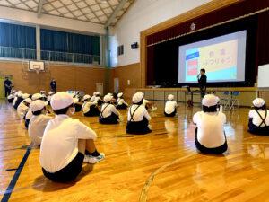 小田小学校 ドローン課外授業